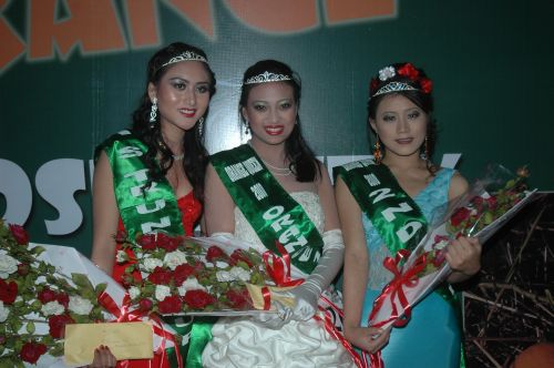 Winners of Orange Queen Contest held as a part of Tamenglong Orange Festival 2010