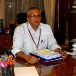 GK Pillai, Home Secretary, Govt of India, at his Office Delhi ---Pic By Oken Jeet Sandham