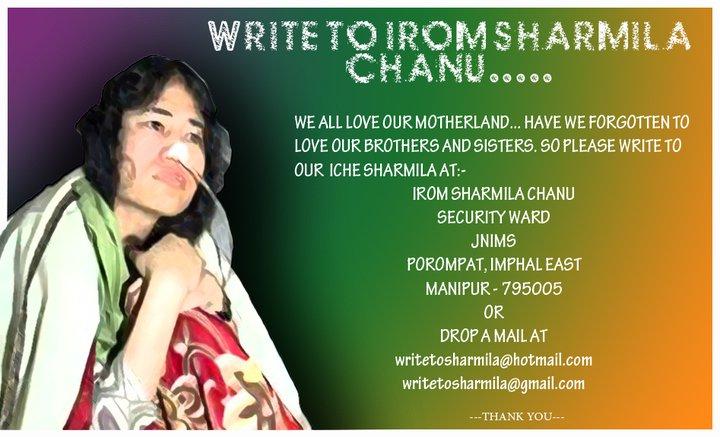 Facebook Event - Write to Irom Sharmila Chanu