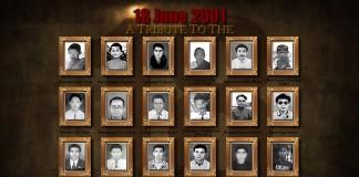 18 June 2001 uprising Martyrs: A tribute by Mahesh Konsam