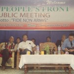 Gaingam President, NPF Manipur speaking during the opening of the NPF office at Tamenglong.
