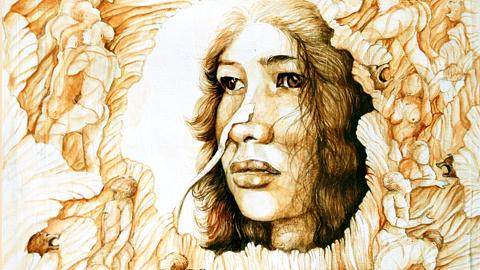 Irom Sharmila Chanu/Daughter of peace: Artwork by Musrat Reazi.