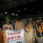 Kanpur –  Srinagar to Imphal Jan Karawan 1