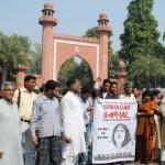 Save Sharmila jan Karvan in Aligarh on 20-10-2011 (5)