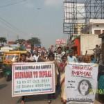 Varanasi  Srinagar to Imphal Jan Karawan 11