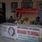 Varanasi  Srinagar to Imphal Jan Karawan 13