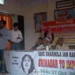 Varanasi  Srinagar to Imphal Jan Karawan 14