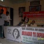 Varanasi  Srinagar to Imphal Jan Karawan 2