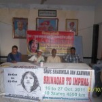 Varanasi  Srinagar to Imphal Jan Karawan 21