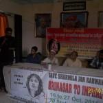 Varanasi  Srinagar to Imphal Jan Karawan 26