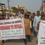 Varanasi  Srinagar to Imphal Jan Karawan 3