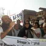 Save Sharmila Jan Karwan  – Srinagar