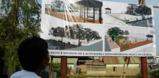 The Future Outlook of the Blooming Manipur at Chingmeirong, Imphal