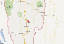 Mizoram Map India
