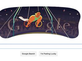 Google Doodles London 2012 Artistic Gymnastics Men's Rings