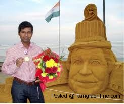 World Sand Sculpture Championship: Indian  Sudarshan Pattnaik wins  Gold Medal