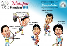 Manipuri Olympians for London - 2012 Olympics