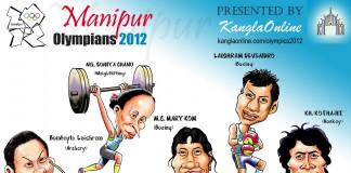 Manipuri Olympians for London - 2012 Olympics