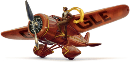 Google Doodle Celebrates Amelia Earhart's 115th Birthday