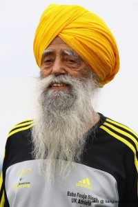 Fauja Singh: Punjab born Worlds Oldest Marathon runner to relay Olympic Torch