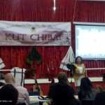 2. KUT organizer welcoming the guests