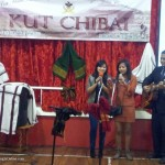 7. Felicia Singson (Middle) from the Mizo Girls' Band Blue-Corn Singing for KUT