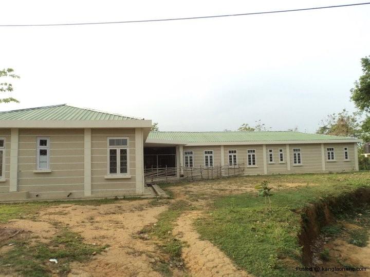 Photo of defunct Borapansury PHC building , Mizoram