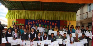 Don Bosco College Maram Lauds the Ranks Holders of 2012