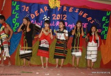Don Bosco College Maram Manipur Celebrates 12th FRESHERS' Meet 2012