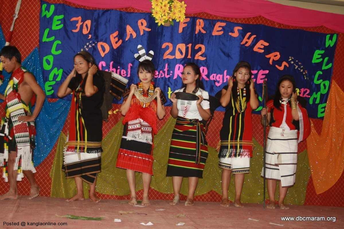 Don Bosco College  Maram Manipur Celebrates 12th FRESHERS' Meet 2012