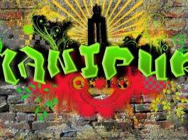 Manipur Grafiti - Art Work by Akoijam Khelendro Singh