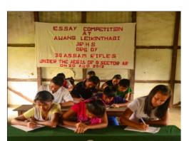 Manipur: 30 Assam Rifles organizes essay competition