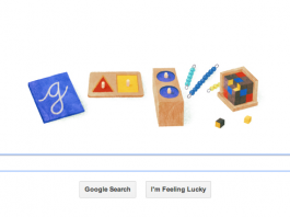 Google Doodle: Maria Montessori was an Italian physician and educator, a noted humanitarian and devout Catholic best known for the philosophy of education which bears her name