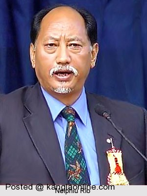 Chief Minister of nagaland : Neiphiu Rio appealing the underground groups to uphold their commitment for peace and re-conciliation among themselves