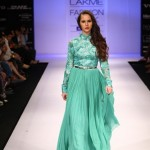 A model on the ramp showcase designer Sailex Ngairangbams creations at LFW (14)