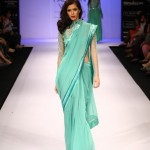 A model on the ramp showcase designer Sailex Ngairangbams creations at LFW (13)