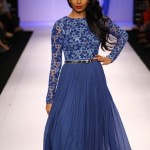 A model on the ramp showcase designer Sailex Ngairangbams creations at LFW (11)