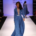A model on the ramp showcase designer Sailex Ngairangbams creations at LFW (10)