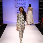 A model on the ramp showcase designer Sailex Ngairangbams creations at LFW (6)