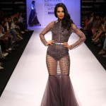 A model on the ramp showcase designer Sailex Ngairangbams creations at LFW (4)