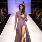 A model on the ramp showcase designer Sailex Ngairangbams creations at LFW (3)