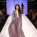 A model on the ramp showcase designer Sailex Ngairangbams creations at LFW (2)