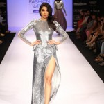 A model on the ramp showcase designer Sailex Ngairangbams creations at LFW (1)