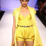 A model on the ramp showcase designer Sailex Ngairangbams creations at LFW (21)