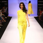A model on the ramp showcase designer Sailex Ngairangbams creations at LFW (19)