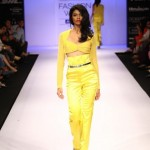 A model on the ramp showcase designer Sailex Ngairangbams creations at LFW (18)