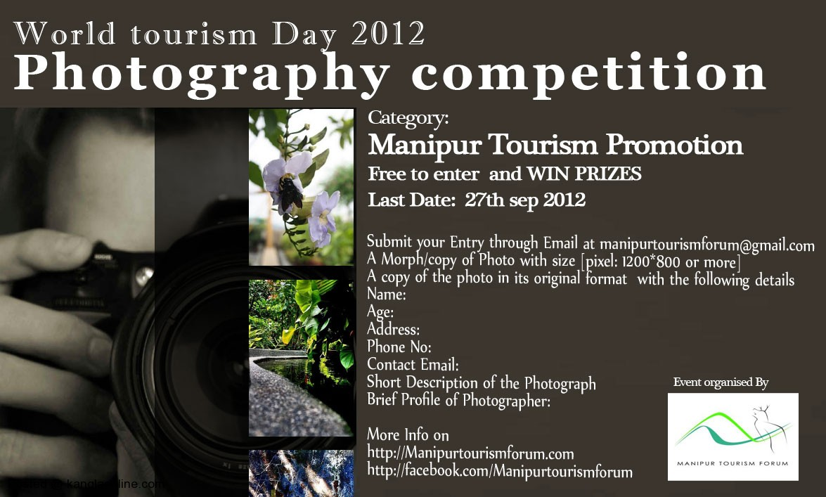 Manipur Tourism Forum - World tourism Day 2012 Photography Competition