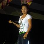 Tingku Manipuri Singer performing during the event