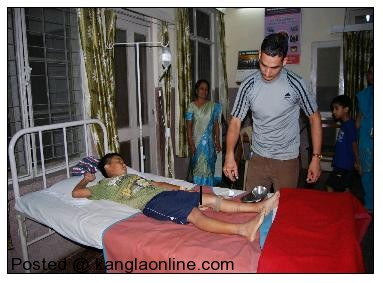 Y Rohen, son of Y Rajendra Singh, aged 12 years, resident of village - Top Awang leikai, district - Imphal (East). The individual was bitten by a venomous snake on 10 September 2012 and was evacuated to MI Room, 30 Assam Rifles, Mantripukhri and given first aid. The individual is in stable condition and was kept under observation