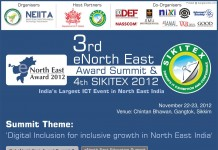 3rd eNorth East Award Summit 2012 & 4th SIKITEX 2012